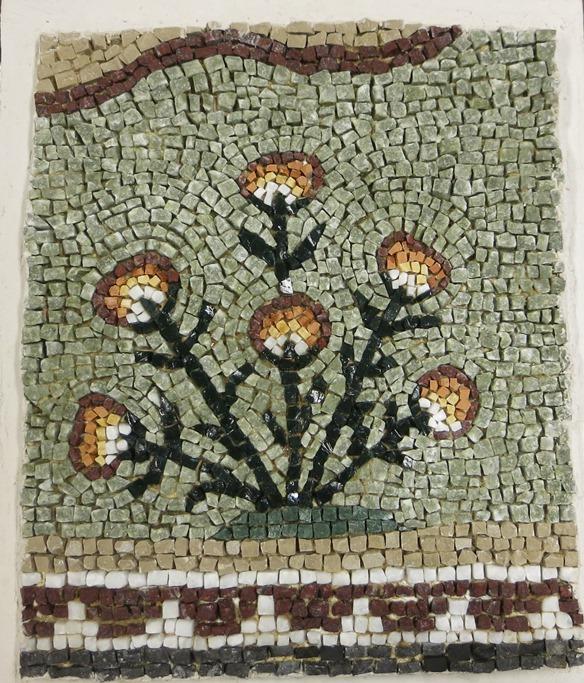 Copie mosaïque romaine mosaic
