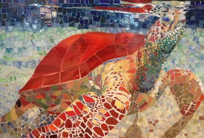 mosaic mosaïque mozaïek tortue turtle