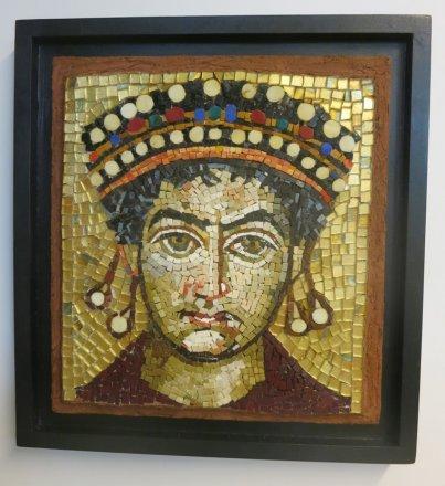 Copie mosaïque byzantine mosaic