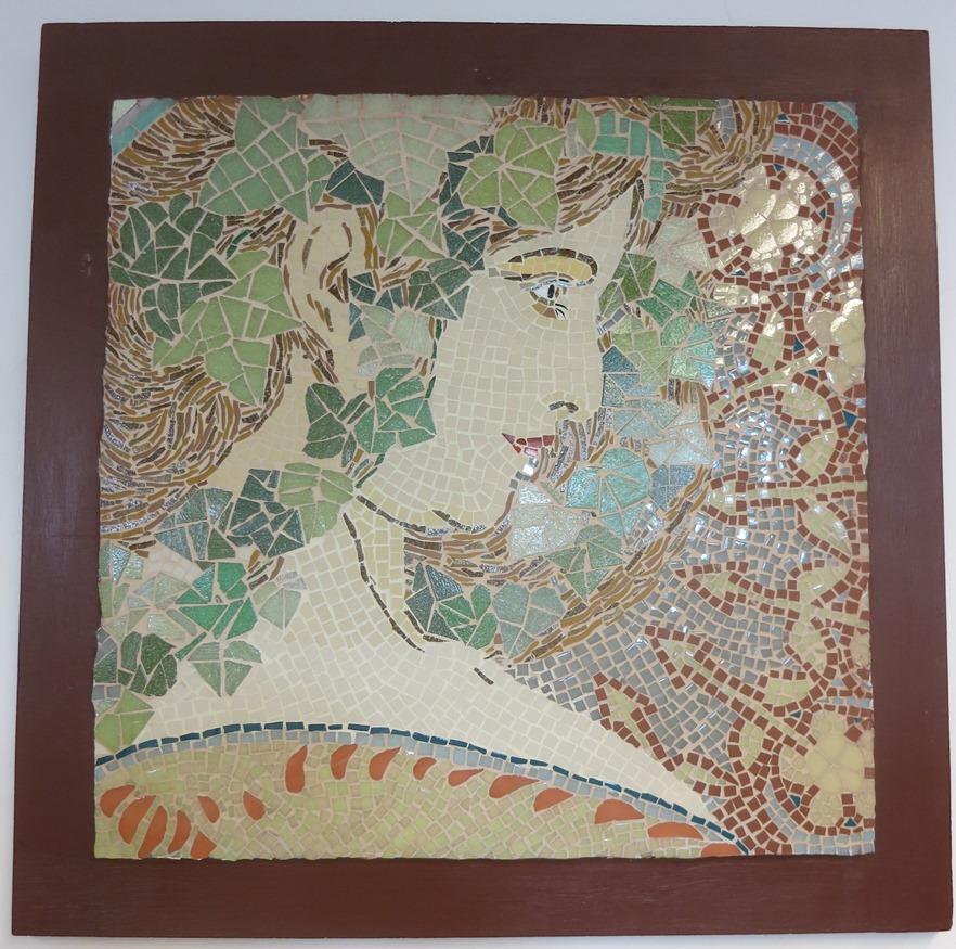 Mosaïque tableau mosaic