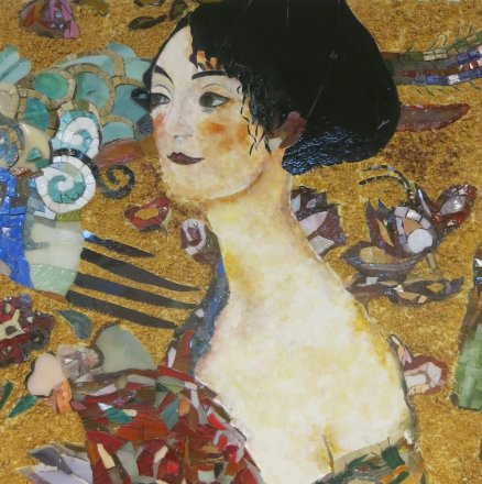 mosaic mosaïque mozaïek peinture painting Klimt