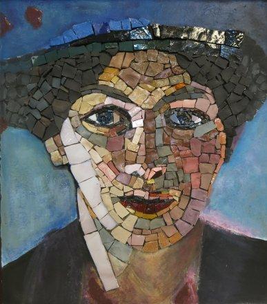 mosaic mosaïque mozaïek peinture painting