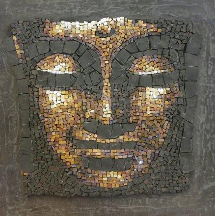 mosaic mosaïque mozaïek peinture bouddha