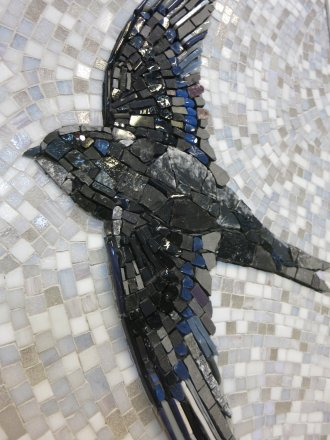 mosaic mosaïque mozaïek martinet bird