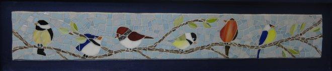 mosaic mosaïque mozaïek oiseaux birds
