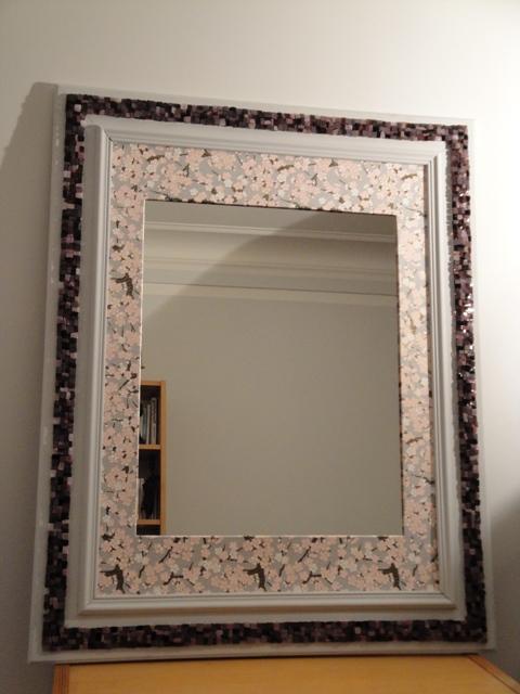 Mosaïque miroir mosaic