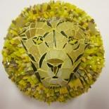 Mosaïque volume lion mosaic