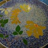 mosaic mosaïque mozaïek table