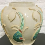 mosaic mosaïque mozaïek vase