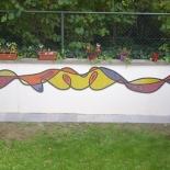 Mosaïque deco exterieure mosaic