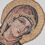 Mosaïque copie byzantin mosaic