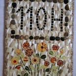 Mosaïque numéro de porte mosaic